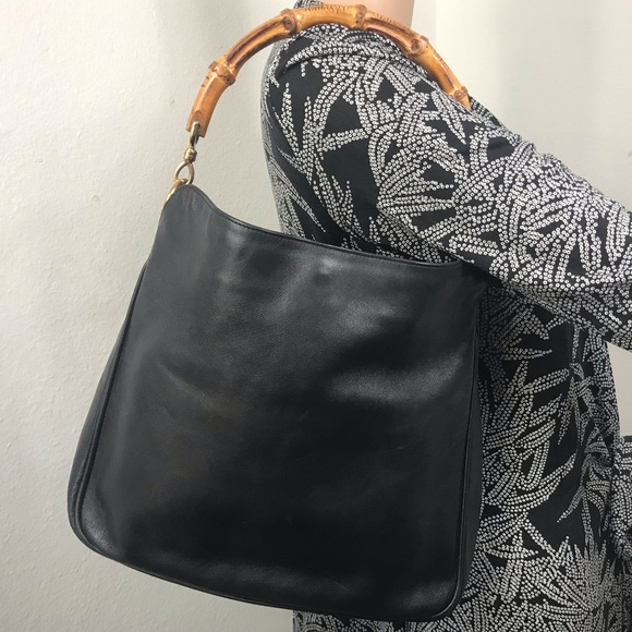 b00d917b1939f3 Gucci Bags   Hp Bamboo Handle Hobo Bag   Poshmark
